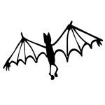 Groovy Halloween Bat