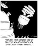 Light Bulb Cartoon 9505