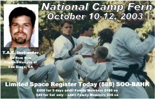 2003 National Camp Texas
