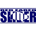 Red Eared Slider Silhouette