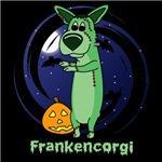 Frankenstein Halloween Corgi