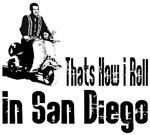 Vespa Scooter San Diego