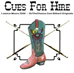Cues For Hire,  Play Pool Cowboy Style - Gifts