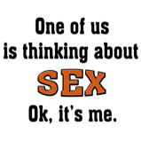 Thinking about sex...