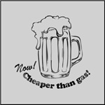 Beer: Now! Cheaper than Gas!