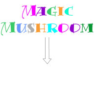 Magic Mushroom (with and without arrow)