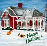 Happy Holidays Corgis
