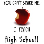 No scare high school teacher