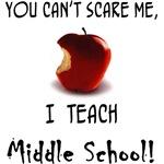 No scare middle school teacher