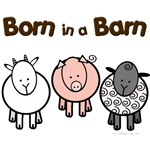 Born in a barn cute animals