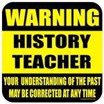 Warning history teacher