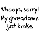 Giveadamn just broke