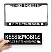 License Plate Frames and Stickers