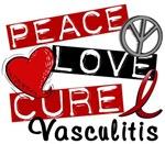 Peace Love Cure 2 Vasculitis T-Shirts1