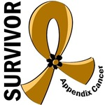 Survivor 12 Appendix Cancer T-Shirts and Gifts