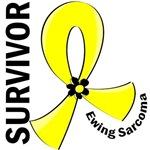 Survivor 12 Ewing Sarcoma T-Shirts and Gifts