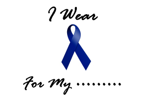 I Wear Blue For My.....1