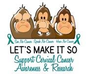 See Speak Hear No Cervical Cancer 2