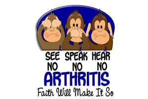 See Speak Hear No Arthritis 1