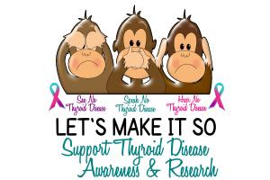 See Speak Hear No Thyroid Disease 2