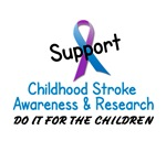 Childhood Stroke Awareness 3 Tees