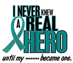 Never Knew A Hero 2 Cervical Cancer Shirts & Gifts