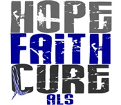 HOPE FAITH CURE ALS T-Shirts & Gifts