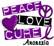 PEACE LOVE CURE Anorexia