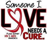 Needs A Cure 2 AIDS Shirts Buttons Gifts