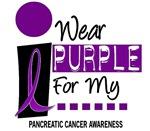I Wear Purple 9 PANCREATIC CANCER T-Shirts & Gifts