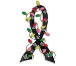 Christmas Lights Ribbon Melanoma Gifts
