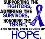 © Supporting Admiring 3.2 Colon Cancer Shirts