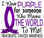 Means World To Me 1 Pancreatic Cancer Shirts