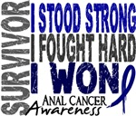 Survivor 4 Anal Cancer Shirts and Gifts