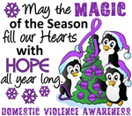 Domestic Violence Christmas Cards and Gifts