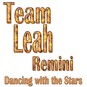 Team Leah Remini Dancng with the Stars