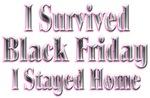 I Survived Black Friday I stayed home