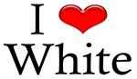 I Heart White