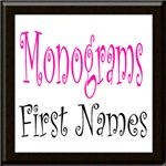 Monograms First Names