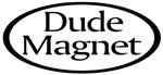 Dude Magnet Oval