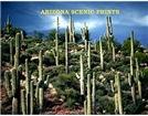Arizona Scenic Landscapes Yearly Calendar Prints