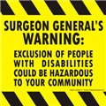 Exclusion Warning!