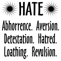 Hate hurts us all!