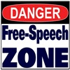 DANGER FREE SPEECH ZONE