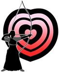 Kyudo heart-target 1