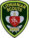 Female Lithuanian Scout Badge