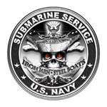USN Submarine Service Bordered