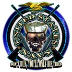 USN Seals, Don't Run, You'll Only Die Tired