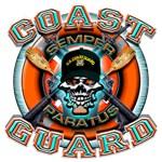 US Coast Guard Skull M-4s