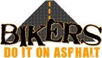 Bikers Do It On Asphalt